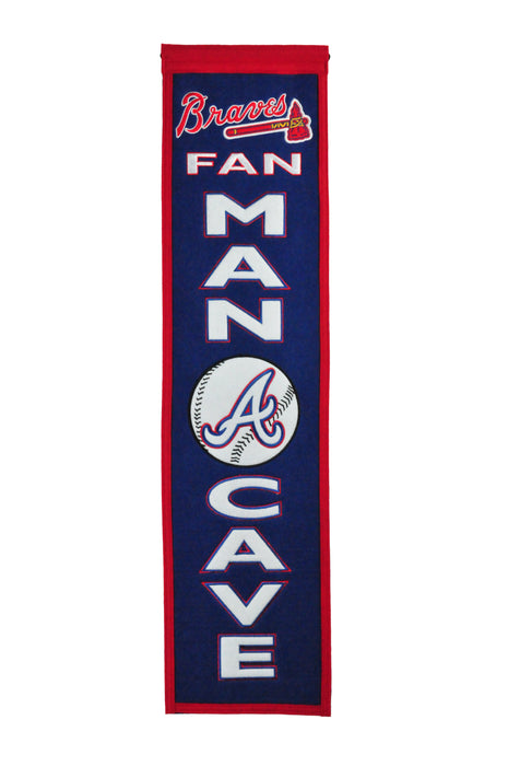 Atlanta Braves Man Cave Banner | Man Cave Decor | 49101