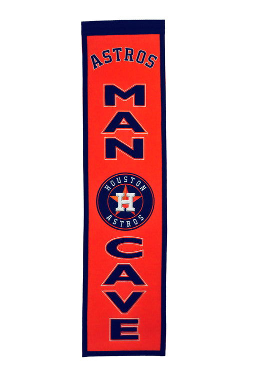 Houston Astros Man Cave Banner | Man Cave Decor | 49110