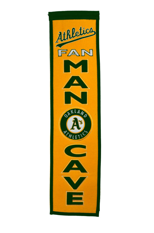 Oakland Athletics Man Cave Banner | Man Cave Decor | 49119