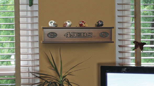 Memorabilia Shelf Example | Man Cave Authority
