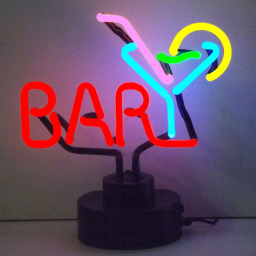 Bar Martini Neon Sculpture | Man Cave Authority | 4BARMA