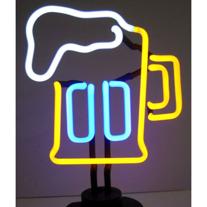 Beer Mug Neon Sculpture | Man Cave Authority | 4BEERM