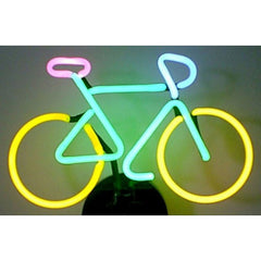Bicycle Neon Sculpture | Man Cave Authority | 4BICYC