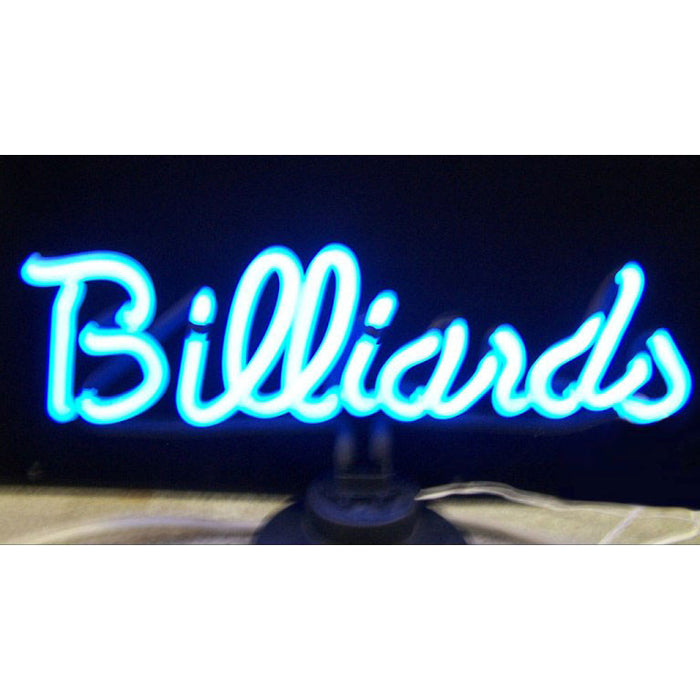 Billiards Neon Sculpture | Man Cave Authority | 4BLRDS