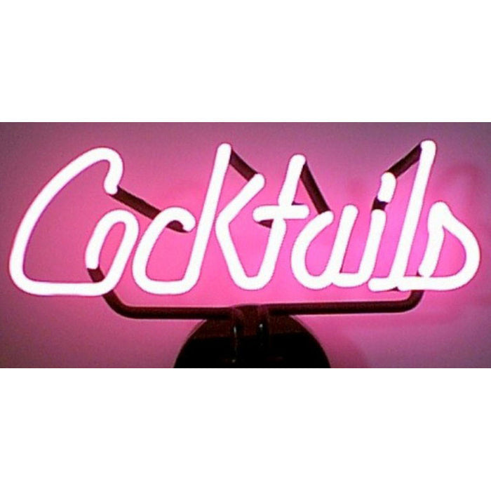 Cocktails Neon Sculpture | Man Cave Authority | 4COCKT