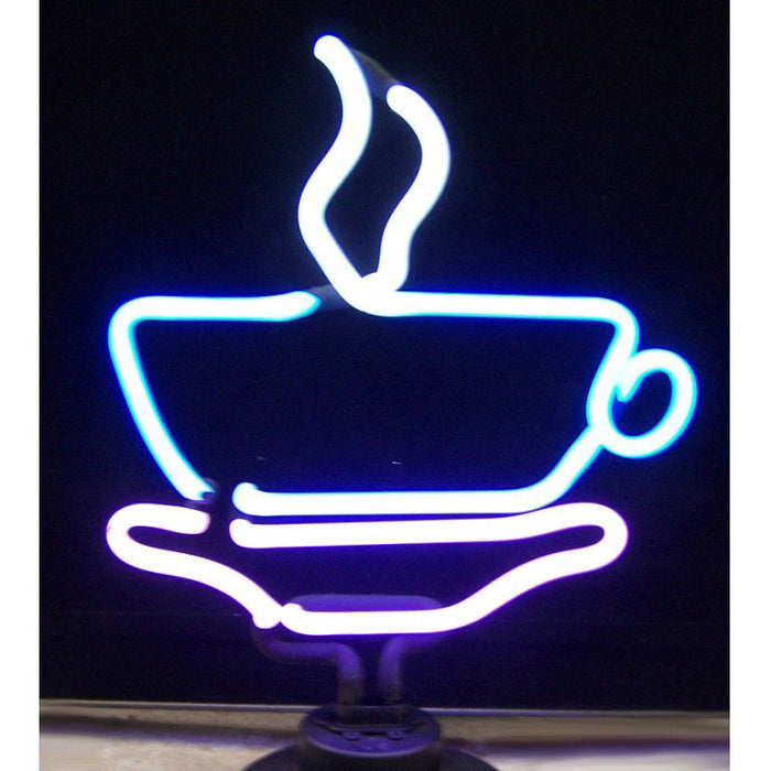 Coffee Cup Neon Sculpture | Man Cave Authority | 4COFFE