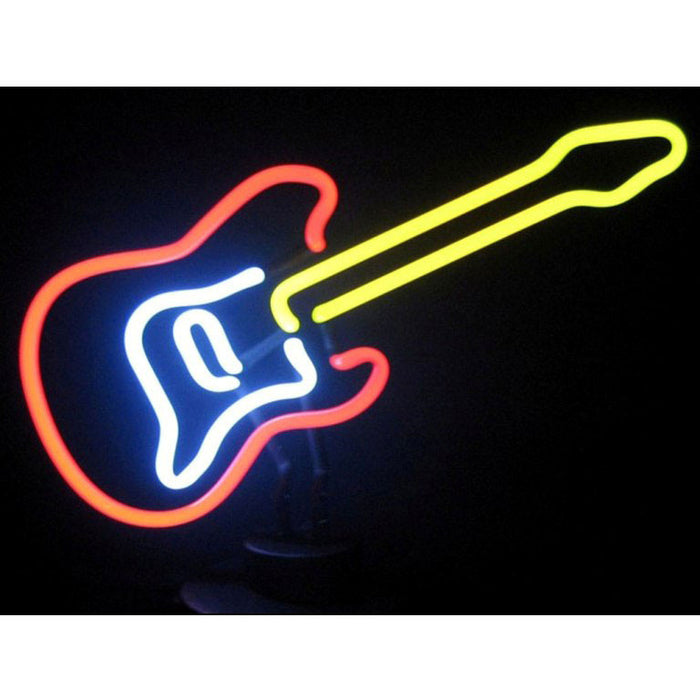 Electric Guitar Neon Sculpture | Man Cave Authority | 4ELECG