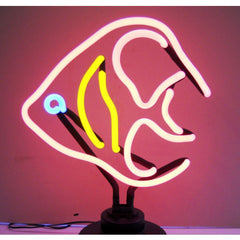 Angelfish Neon Sculpture | Man Cave Authority | 4FISHX