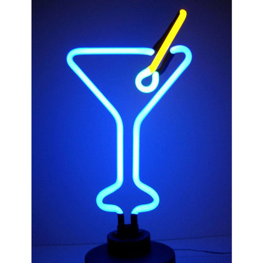 Martini Glass Neon Sculpture | Man Cave Authority | 4MARTX