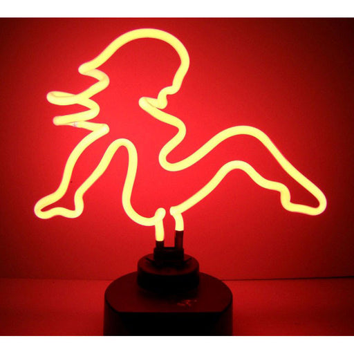 Mud Flap Girl Neon Sculpture | Man Cave Authority | 4MDFLP