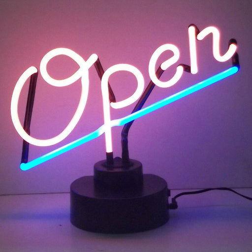 Open Neon Sculpture | Man Cave Authority | 4OPENX