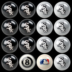 Chicago White Sox Home Vs. Away Billiard Ball Set | Man Cave Authority | IMP 50-2106