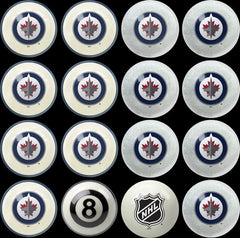 Winnipeg Jets Home Vs. Away Billiard Ball Set | Man Cave Authority | IMP 50-4107