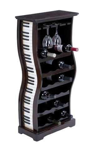 Piano Wine Holder And Horizontal Racks with Artistic Finish