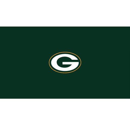 Green Bay Packers 9 Foot Billiard Cloth | Man Cave Authority | IMP 52-1001-9