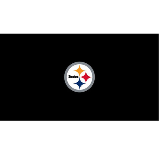Pittsburgh Steelers 9 Foot Billiard Cloth | Man Cave Authority | IMP 52-1004-9