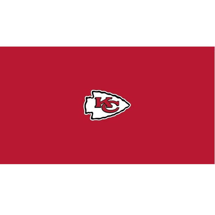 Kansas City Chiefs 9 Foot Billiard Cloth | Man Cave Authority | IMP 52-1006-9