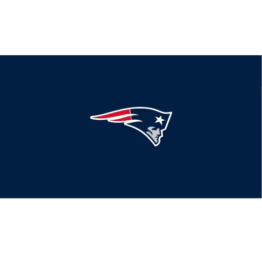 New England Patriots 9 Foot Billiard Cloth | Man Cave Authority | IMP 52-1011-9