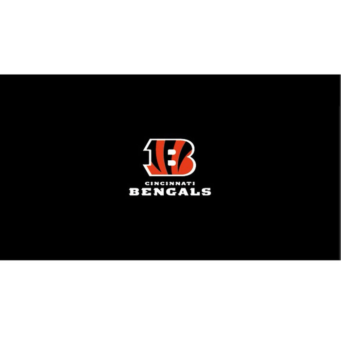 Cincinnati Bengals 9 Foot Billiard Cloth | Man Cave Authority | IMP 52-1023-9