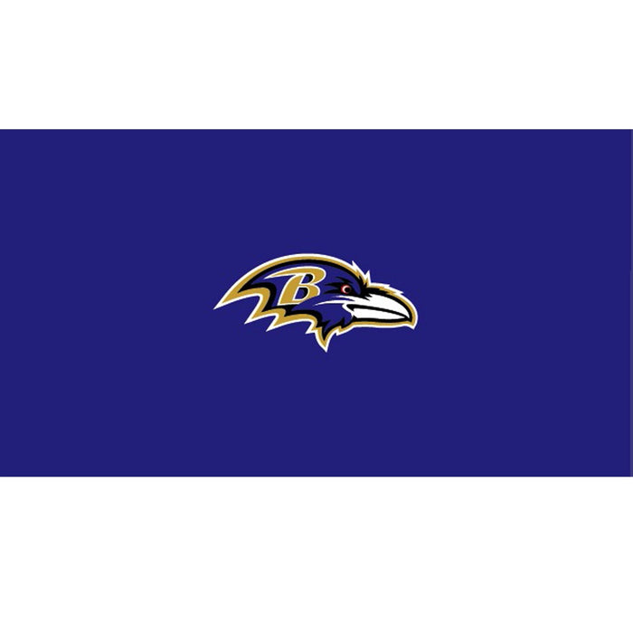 Baltimore Ravens 9 Foot Billiard Cloth | Man Cave Authority | IMP 52-1025-9