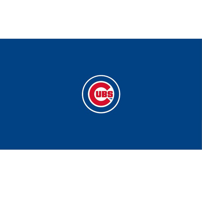Chicago Cubs   8 Foot Billiard Cloth | Man Cave Authority | IMP 52-2005