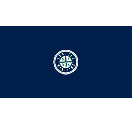 Seattle Mariners 9 Foot Billiard Cloth | Man Cave Authority | IMP 52-2009-9