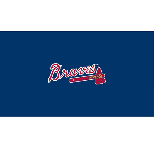 Atlanta Braves 9 Foot Billiard Cloth | Man Cave Authority | IMP 52-2010-9