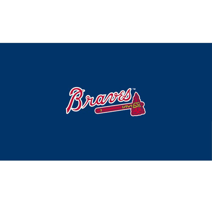 Atlanta Braves 8 Foot Billiard Cloth | Man Cave Authority | IMP 52-2010