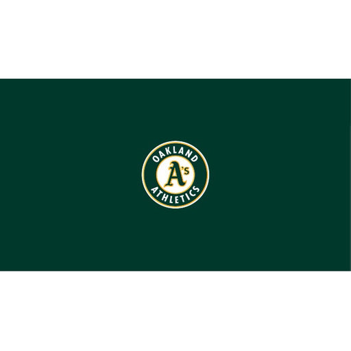 Oakland Athletics 9 Foot Billiard Cloth | Man Cave Authority | IMP 52-2018-9