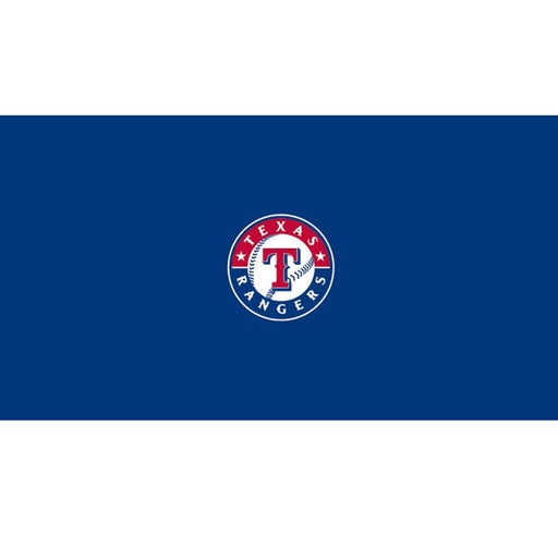Texas Rangers 9 Foot Billiard Cloth | Man Cave Authority | IMP 52-2020-9