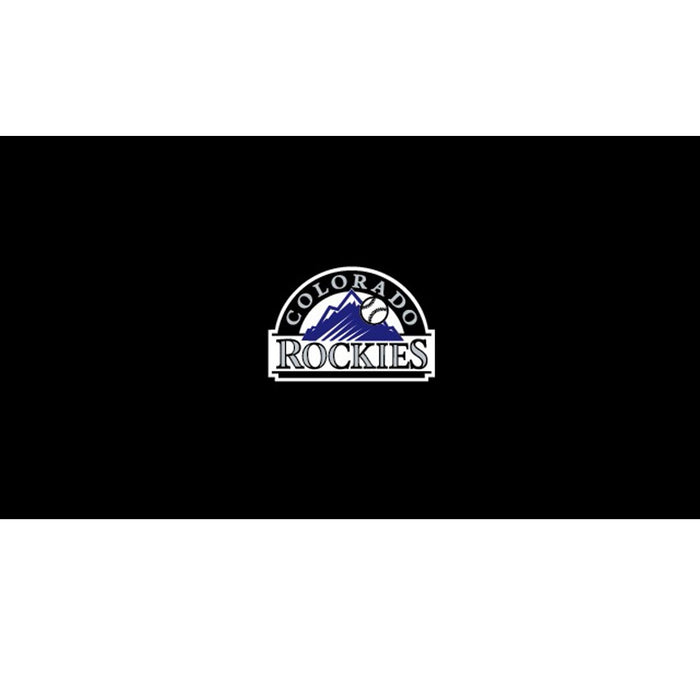 Colorado Rockies 8 Foot Billiard Cloth | Man Cave Authority | IMP 52-2023
