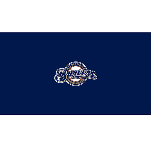 Milwaukee Brewers 9 Foot Billiard Cloth | Man Cave Authority | IMP 52-2027-9