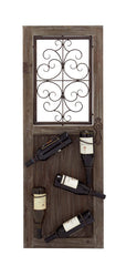 Classy Italian Style Wall Mounted Wine Rack | Man Cave Authority | 54447