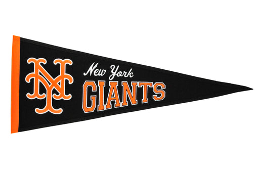 New York Giants Cooperstown Pennant | Man Cave Decor | 56150