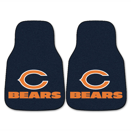 Chicago Bears 2-pc Carpet Car Mat Set | Man Cave Authority | 5710