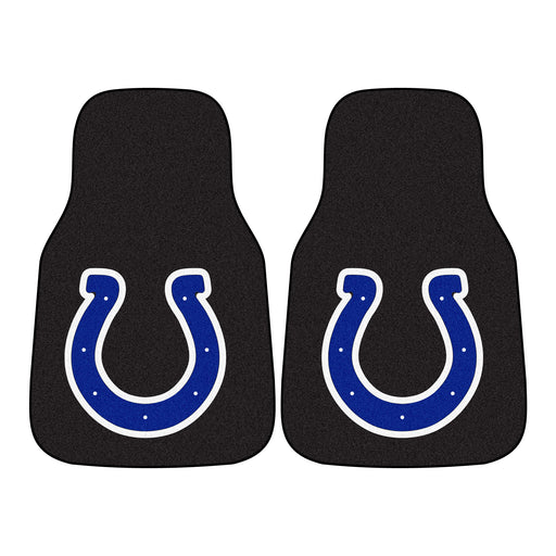 Indianapolis Colts 2-pc Carpet Car Mat Set | Man Cave Authority | 5747