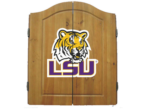Louisiana State University (LSU) Dart Cabinet Set | Man Cave Authority | IMP  58-4005