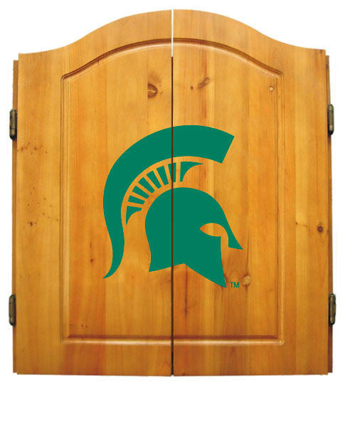 Michigan State Dart Cabinet Set | Man Cave Authority | IMP  58-4016