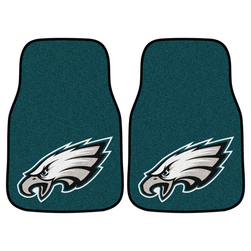 Philadelphia Eagles 2-pc Carpet Car Mat Set | Man Cave Authority | 5820
