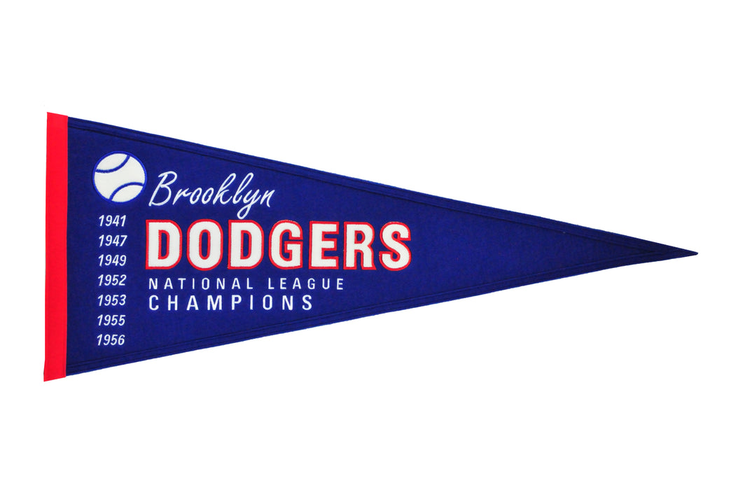 Brooklyn Dodgers Cooperstown Pennant | Man Cave Decor | 59014