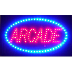 Arcade LED Sign | Man Cave Authority | 5ARLED