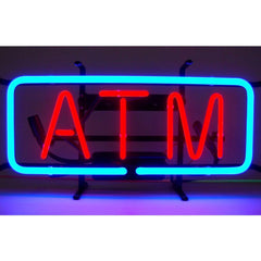 ATM Neon Sign | Man Cave Authority | 5ATMNE