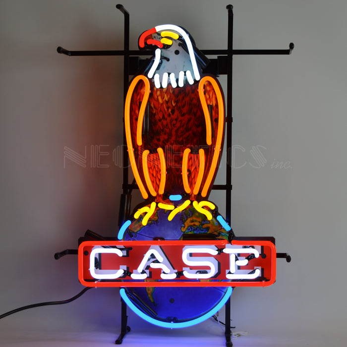 Case Eagle Neon Sign | Man Cave Authority | 5CASEE