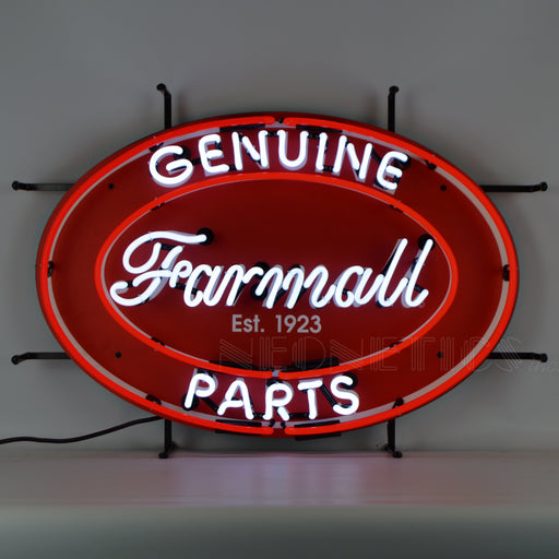 Farmall Genuine Parts Oval Neon Sign | Man Cave Authority | 5CASEO
