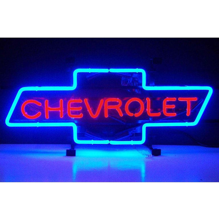 Chevrolet Bowtie Neon Sign | Man Cave Authority | 5CHVBO