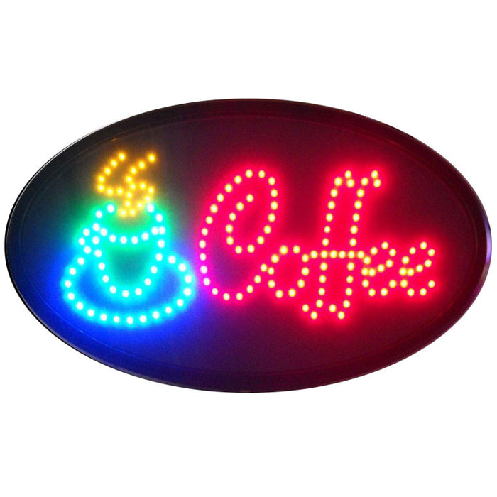 Coffee LED Sign | Man Cave Authority | 5COFLED
