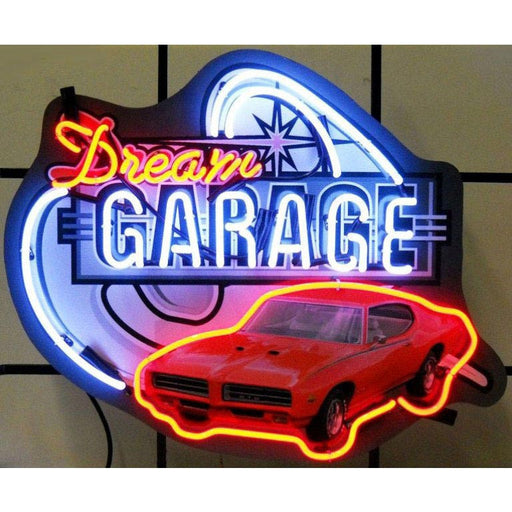 Dream Garage Gto Neon Sign | Man Cave Authority | 5DGGTO