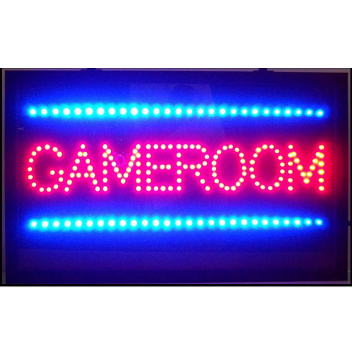 Gameroom LED Sign | Man Cave Authority | 5GAMLE