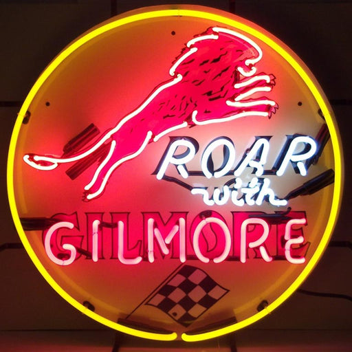 Gilmore Gasoline Neon Sign | Man Cave Authority | 5GSGIL