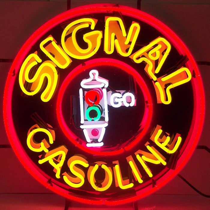 Signal Gasoline Neon Sign | Man Cave Authority | 5GSSIG